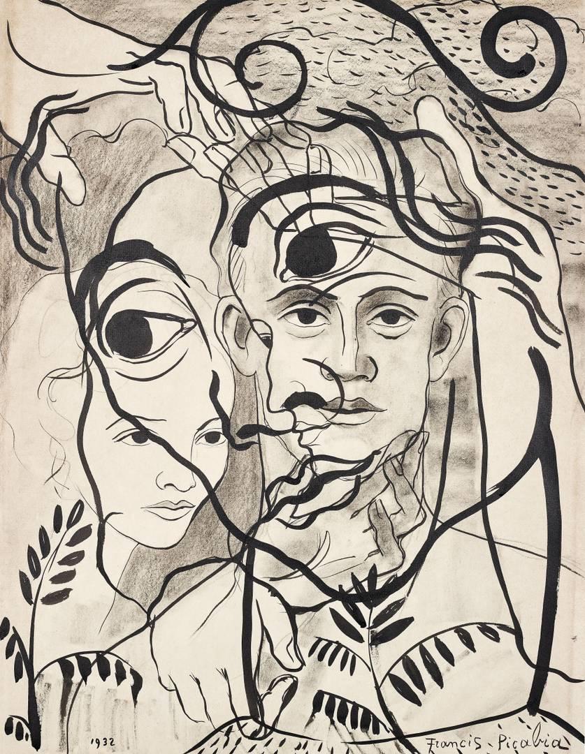 Франсис Пикабиа. Без названия. 1932
