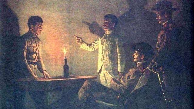 В. В. Верещагин. Допрос перебежчика. Около 1901