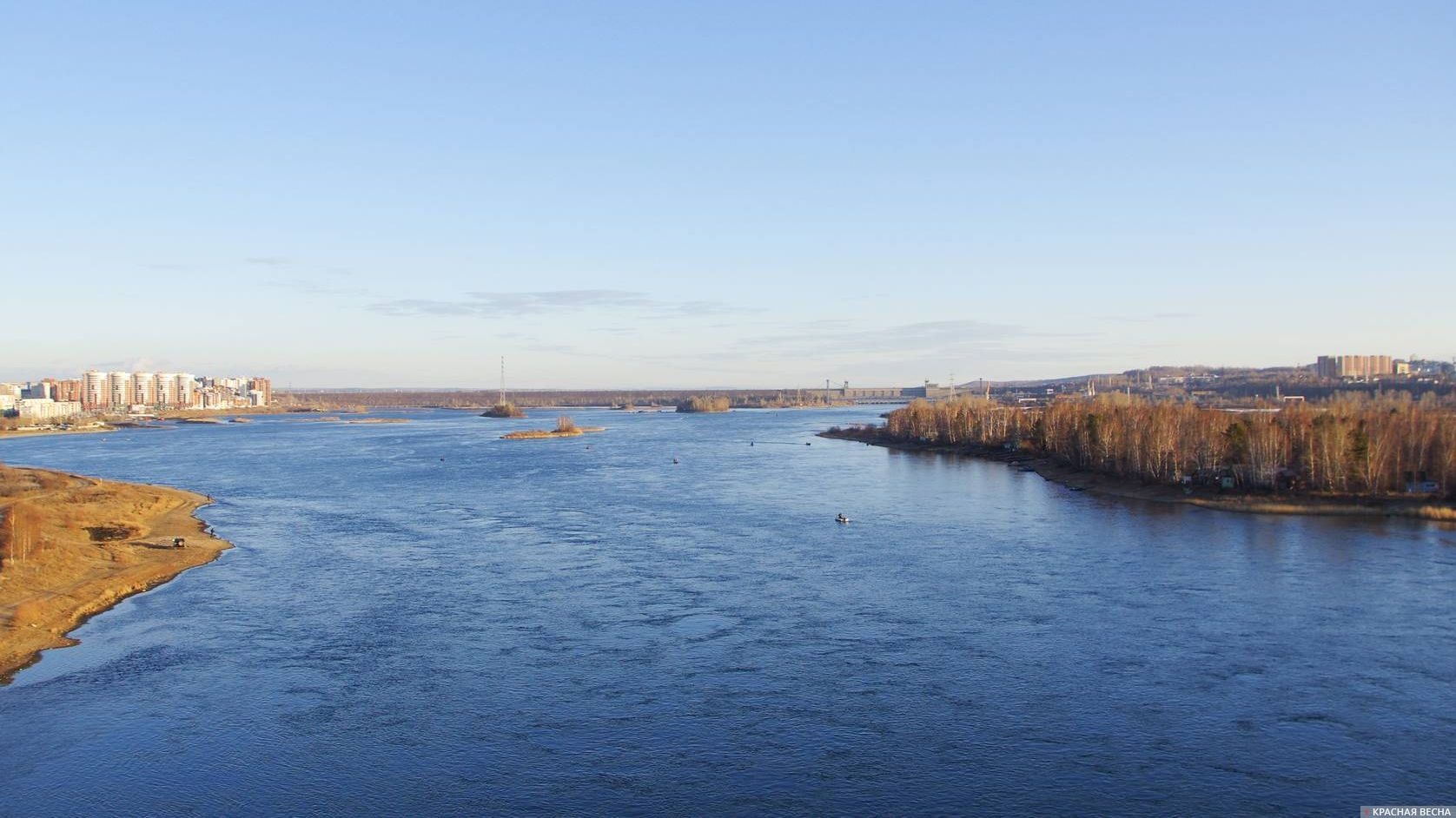 Река Ангара.
