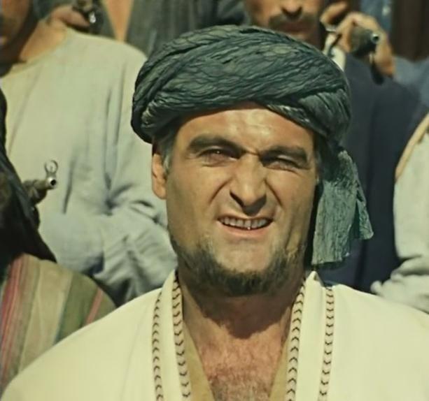 Абдулла  - главарь басмачей