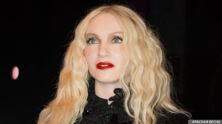 Мадонна. Музей мадам Тюссо в Амстердаме