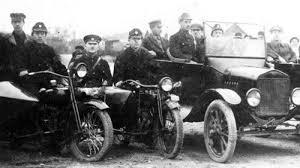 Бакинская рабоче-крестьянская милиция 1920г. Фрагмент