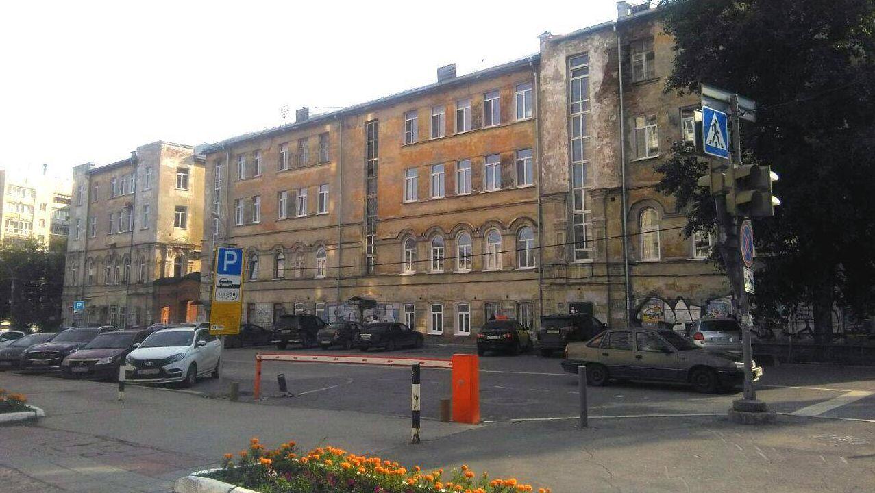 Дом по адресу Куйбышева, 7 в Перми