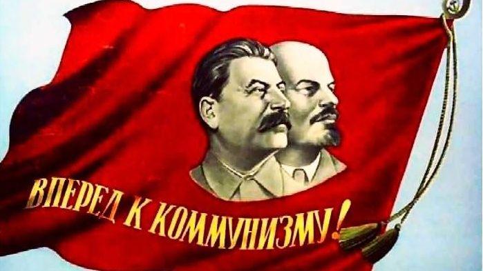 Вперёд к коммунизму, советский плакат