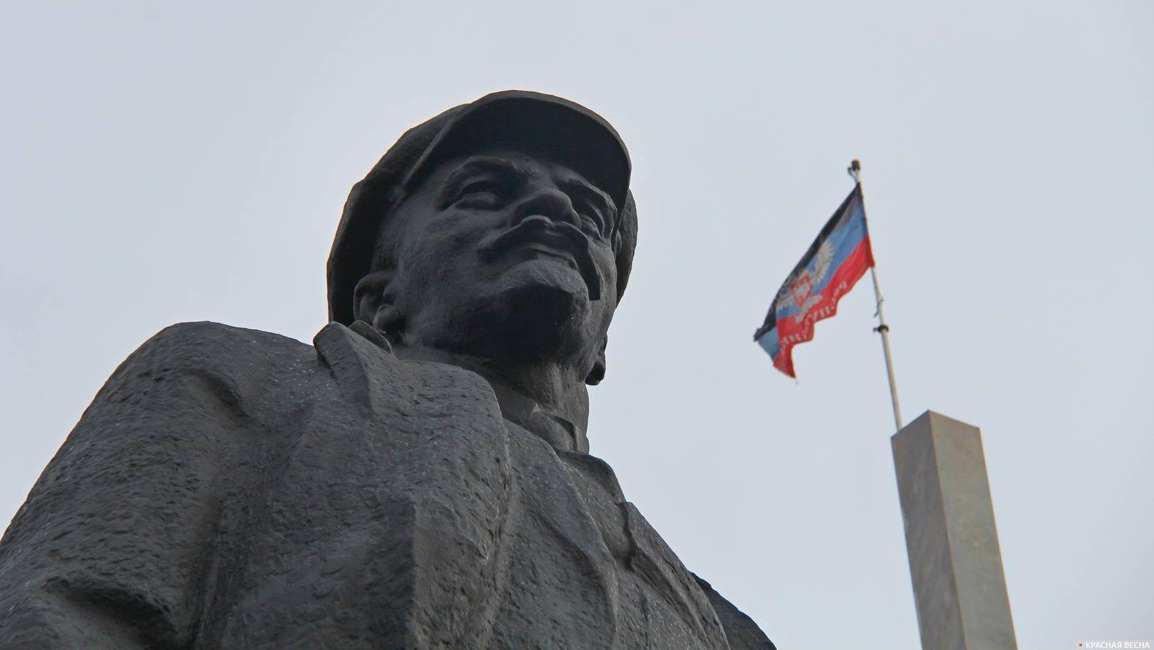 Памятник Ленину. Донецк. ДНР. 2016.