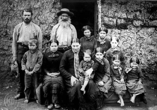 Семья буров. 1886 год