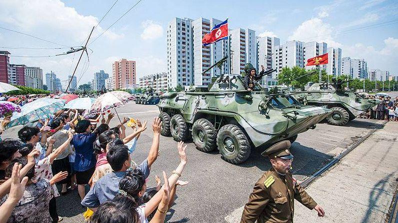 Парад армии КНДР