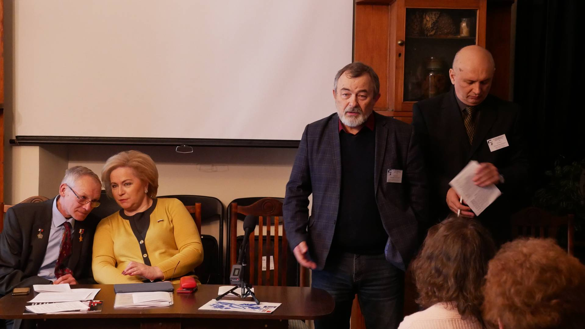 Валерий Ситников выступает на Макаренковских чтениях