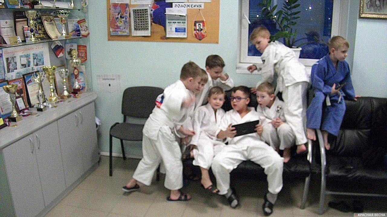 Новосибирск. Очередь на тренировку