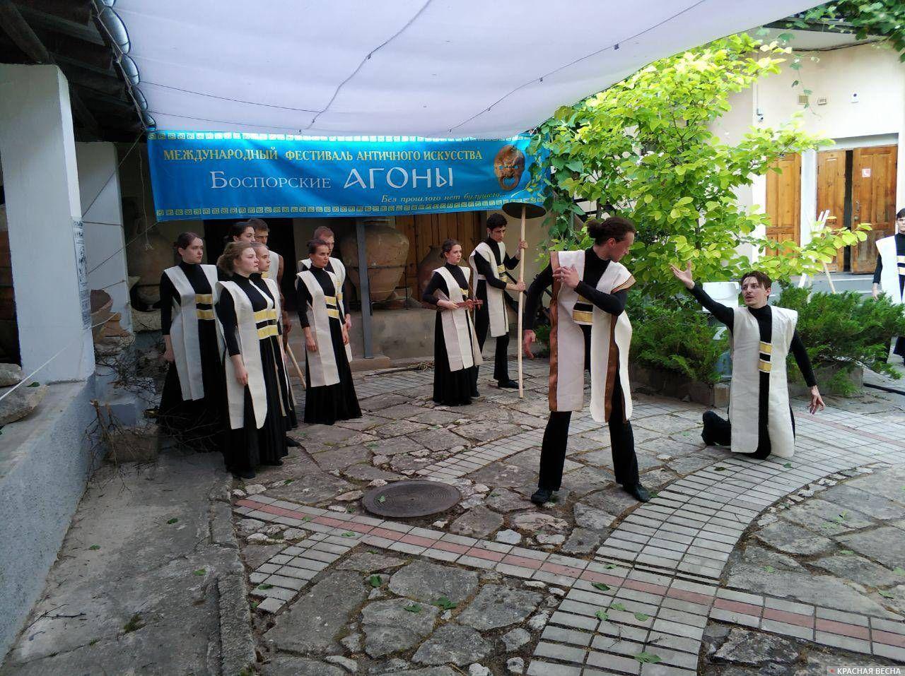 Постановка «Смерть Гектора» из «Илиады» Гомера, 9 июня 2019 года, Керчь