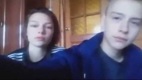 Псковские школьники Денис Муравьёв и Катя Власова перед самоубийством. Цитата из трансляции в Periscope