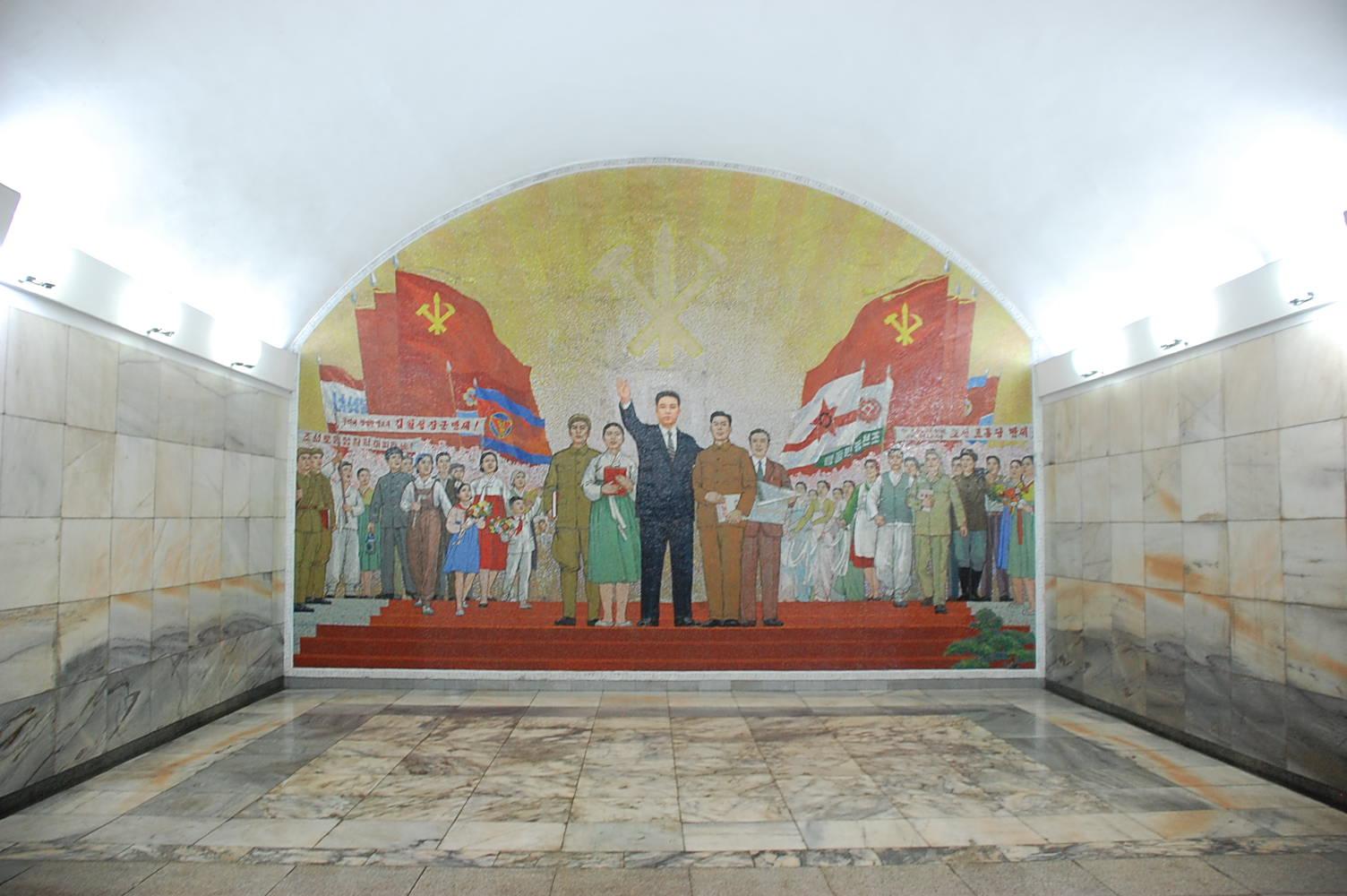 Северокорейское метро, автор: (stephan), лицензия: CC BY SA 2.0 [(cc) Wikipedia.org]