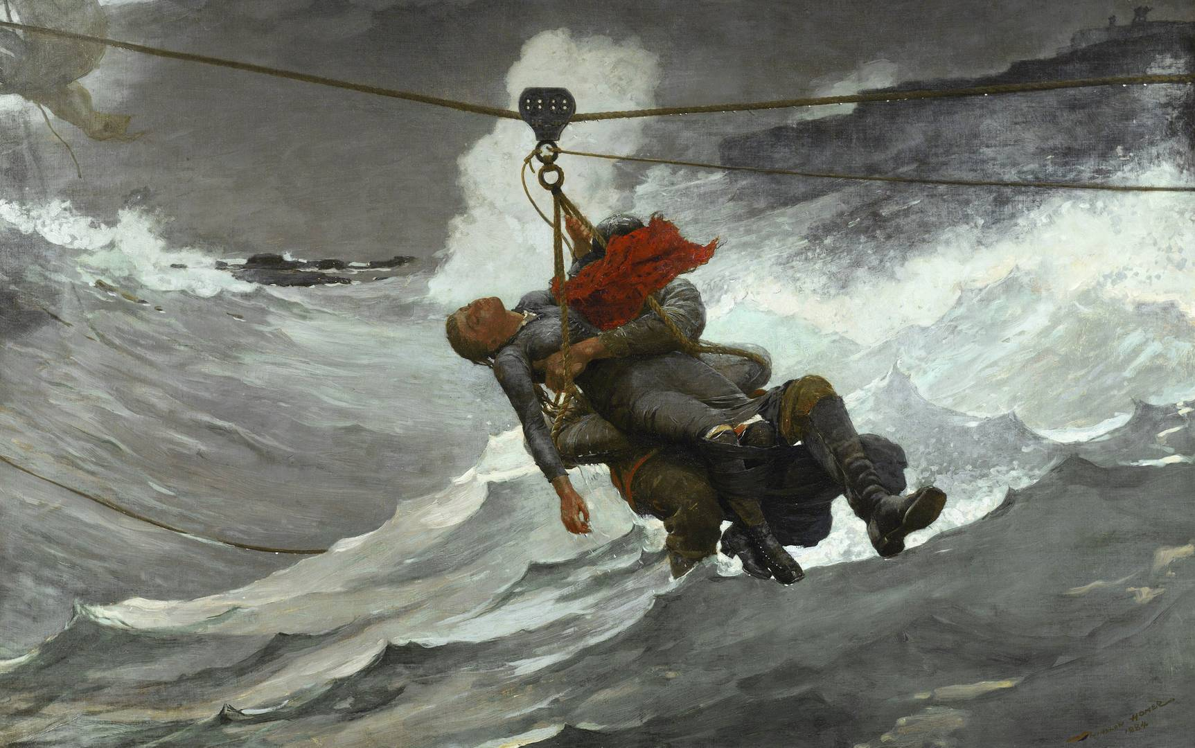 Уинслоу Хомер. Линия жизни. 1884