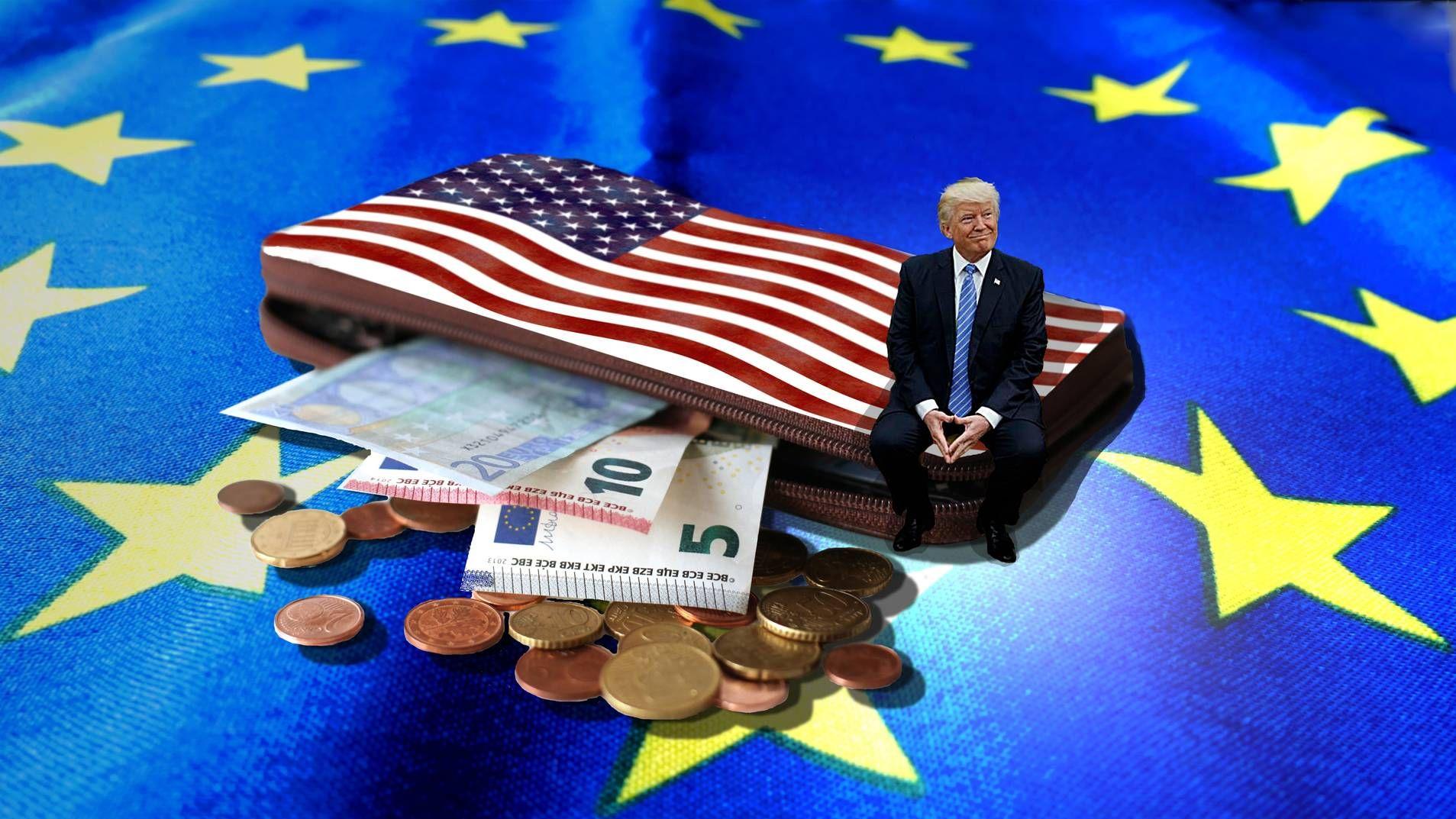 Пошлины. Европа. США. Трамп