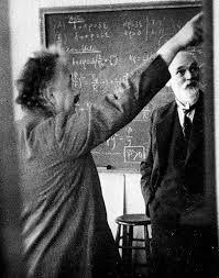 Альберт Эйнштейн и Виллем Де Ситтер