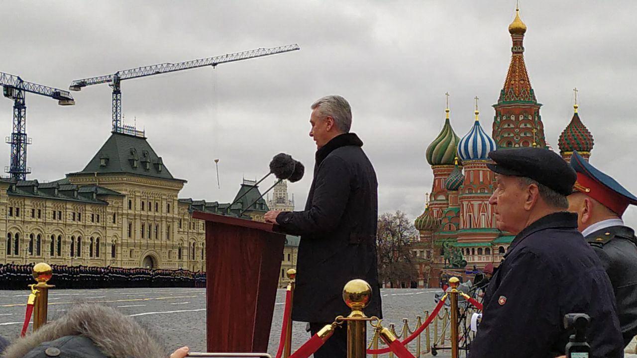 Мы открыли новую развязку, Сергей Собянин 7 ноября 2019 года
