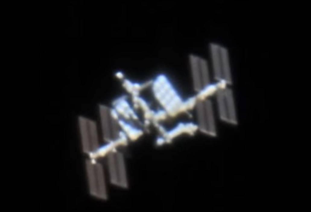 Наблюдение за МКС в телескоп