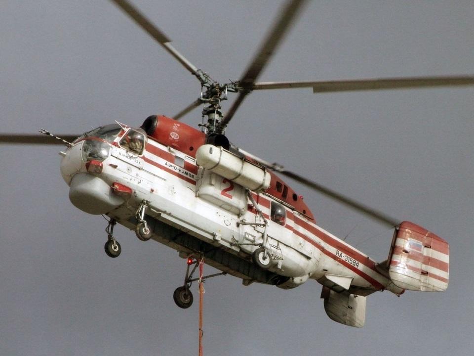 Вертолёт Ка-32 (сс) Timofeich