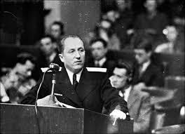 Главный обвинитель от СССР на Нюрнбергском процессе Руденко Р.А.
