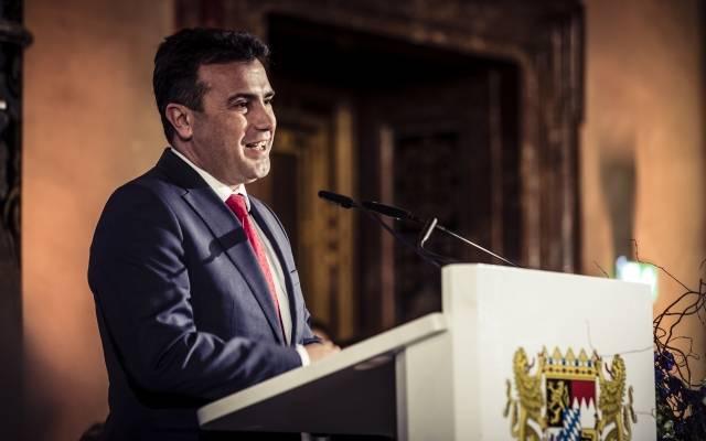 Премьер-министр Северной Македонии Зоран Заев