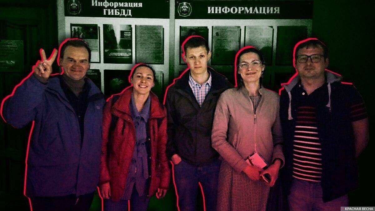 Задержание корреспондентов ИА Красная Весна в Ульяновске. 05.05.2018