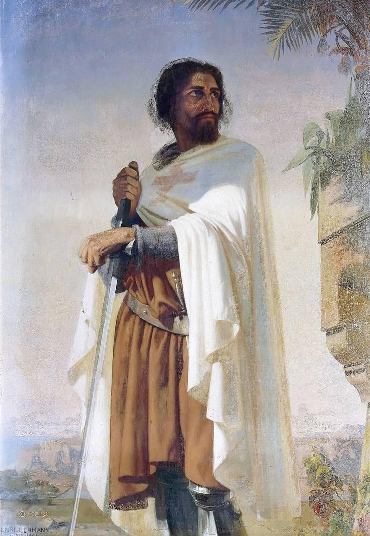 Анри Леман. Гуго де Пейн. 1841