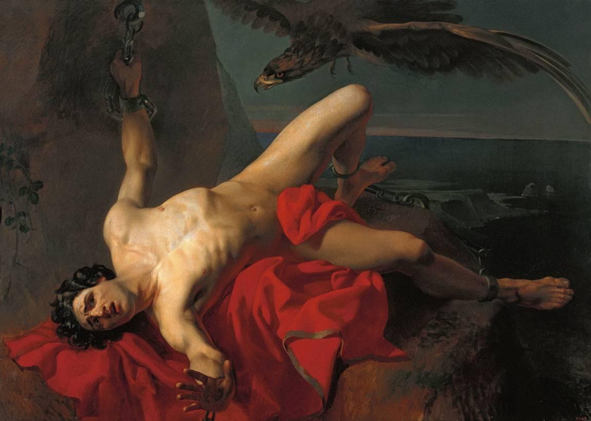 Михайлов Григорий Карпович Прометей (эскиз) 1839