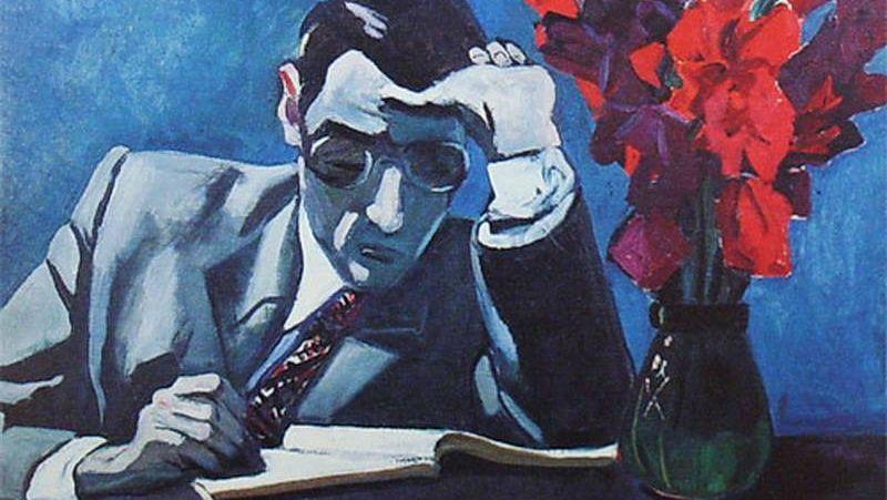 Александр Дейнека. Трудное решение (фрагмент). 1966 год