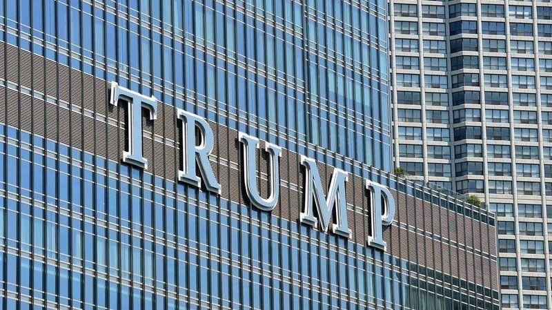 дональд трамп, трамп, башня