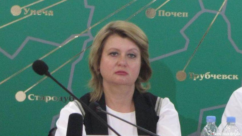Первый заместитель директора департамента образования и науки Брянской области Татьяна Кулешова