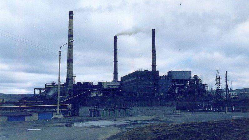 Завод Норильского Никеля