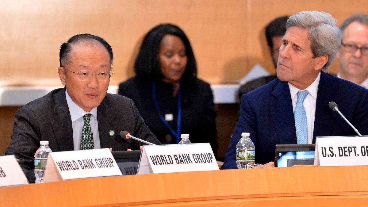 Президент Всемирного банка в Вашингтоне