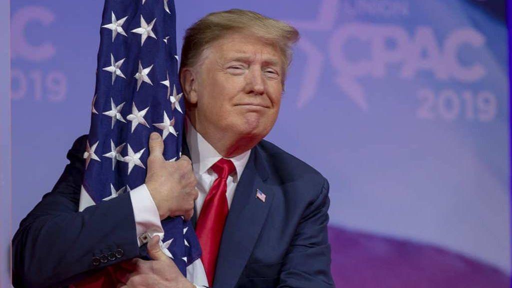Дональд Трамп патриот