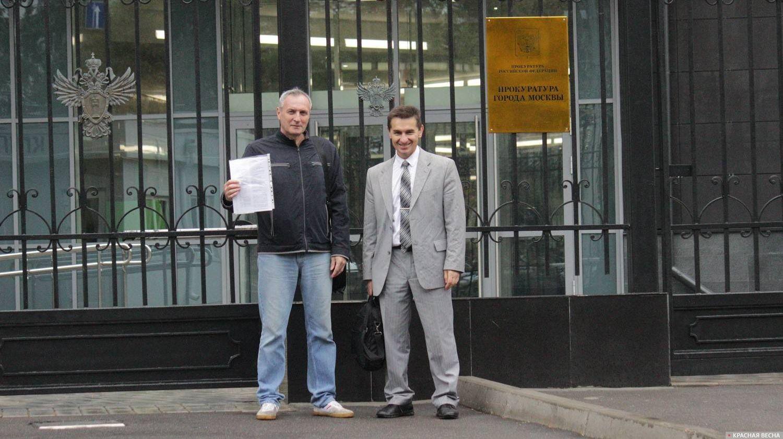 Игорь Кудряшов и Олег Барсуков