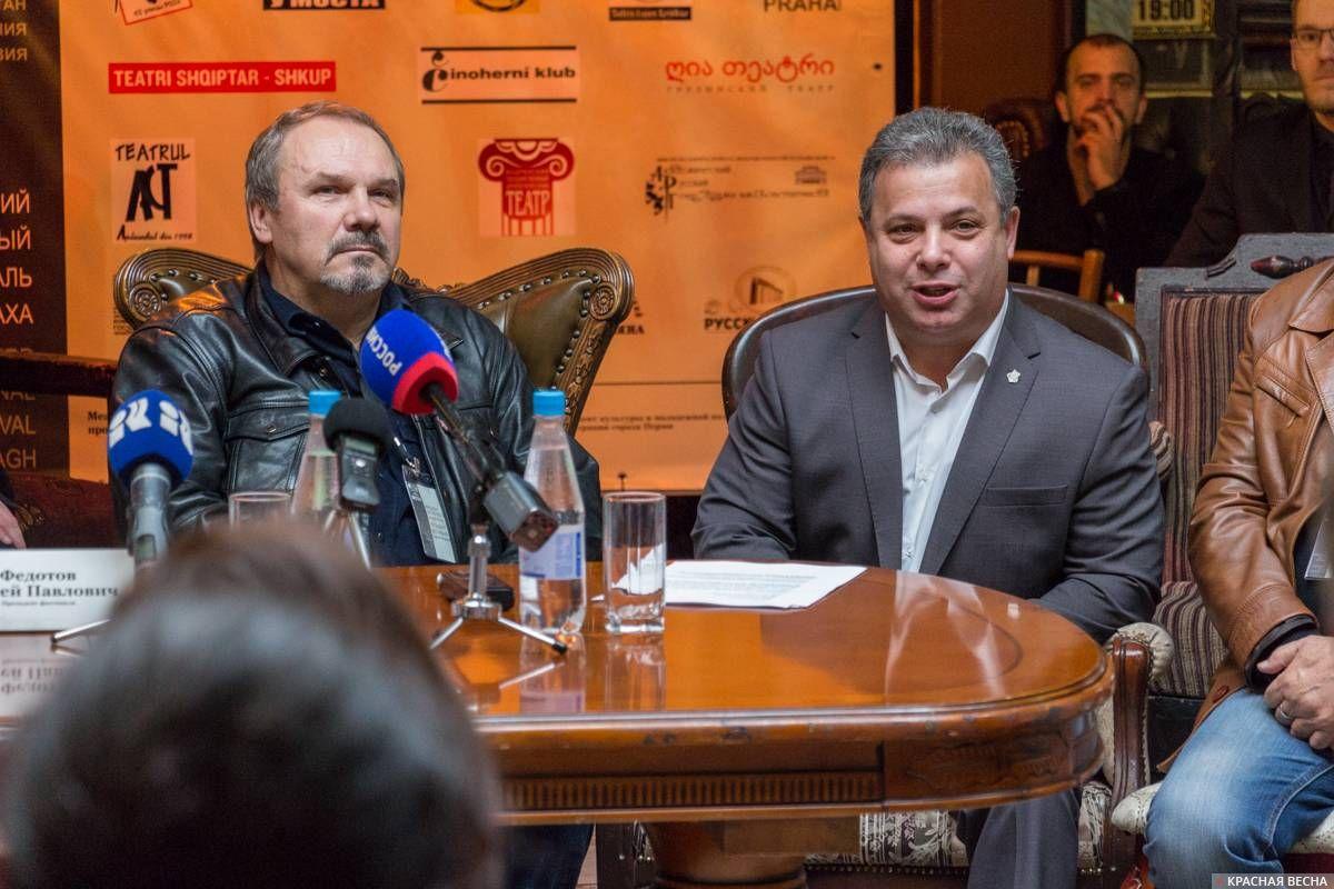 Сергей Федотов и Вячеслав Торчинский