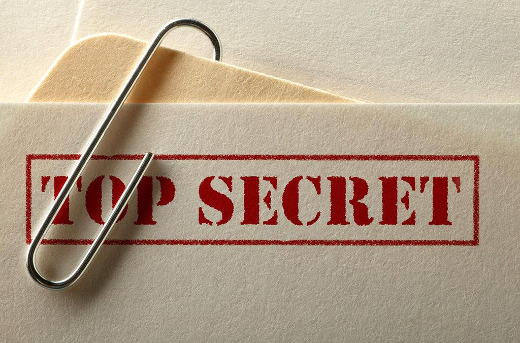 Гриф «совершенно секретно»