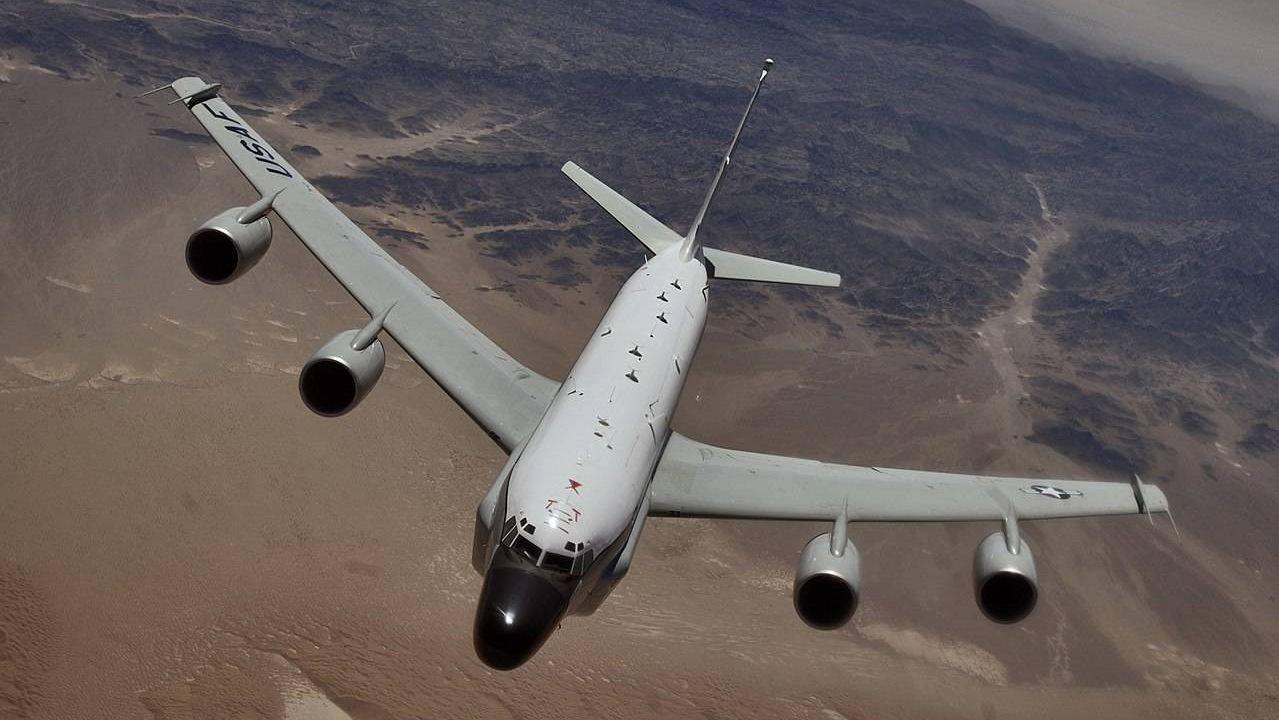 Разведовательный самолет Boeing RC-135S