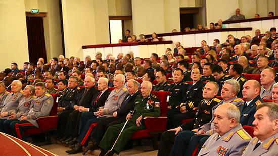 Торжественное собрание в честь 186 летия со дня основания Военной академии Генерального штаба Вооруженных Сил Российской Федерации