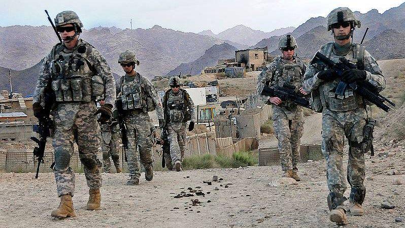 Патруль армии США в Афганистане
