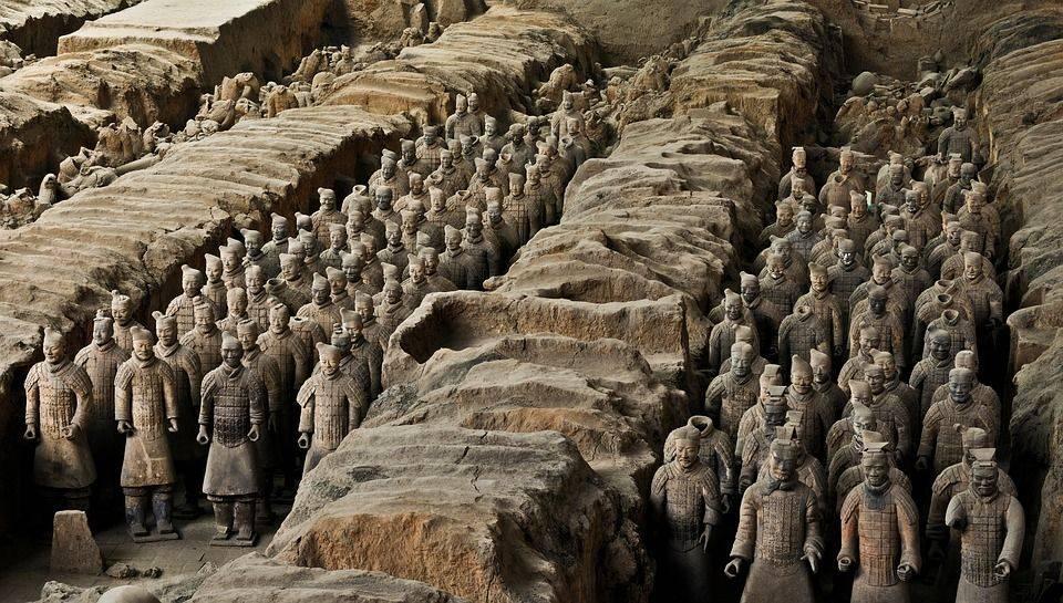 Терракотовая армия, китай, xian