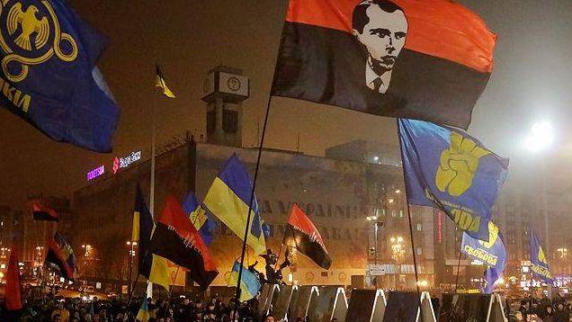 Факельное шествие, Киев, 01.01.2015