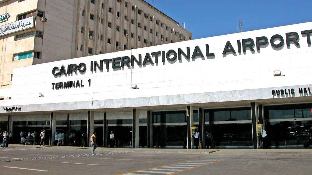 Международный аэропорт. Каир