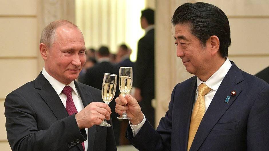 Путин иАбэ активизируют переговорный процесс наоснове декларации 1956 года