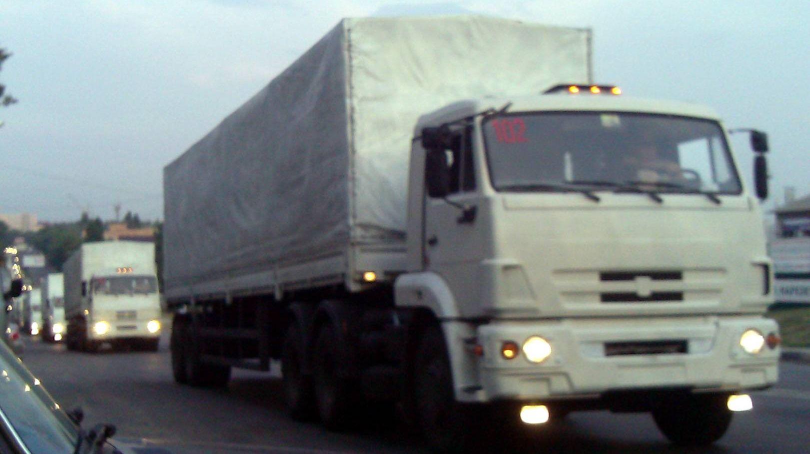 Гуманитарный конвой  на Донбасс