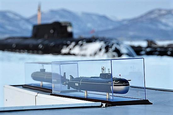 Макет. Подводная лодка [mil.ru]