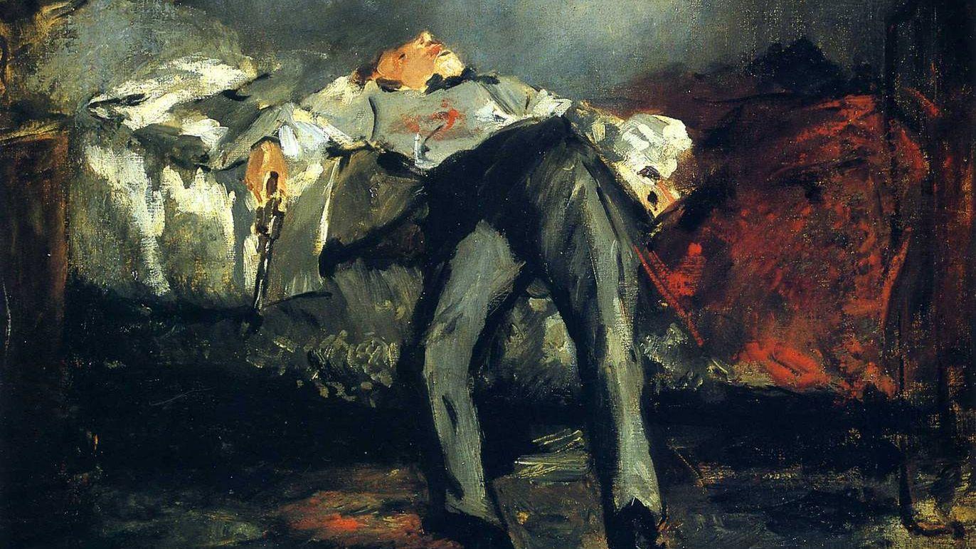 Эдуард Мане. Самоубийство. 1880