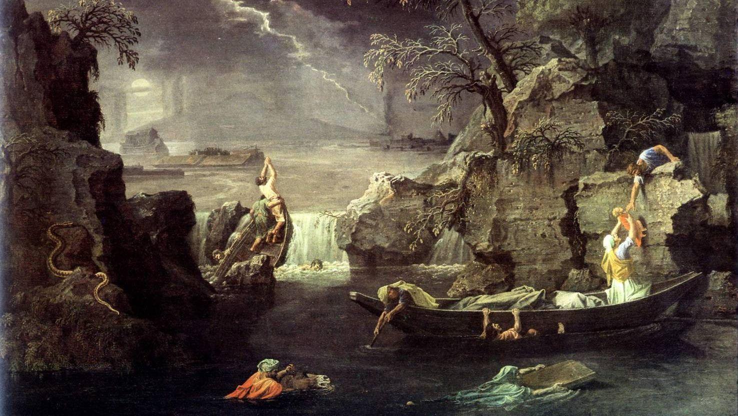 Зима, или Потоп. Никола Пуссен. 1665
