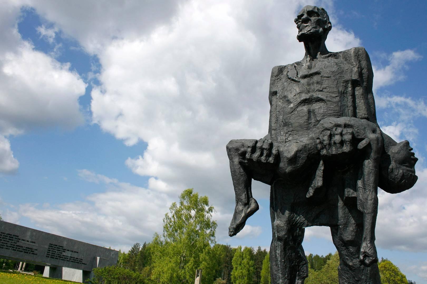 Непокоренный человек. Хатынь, Белоруссия