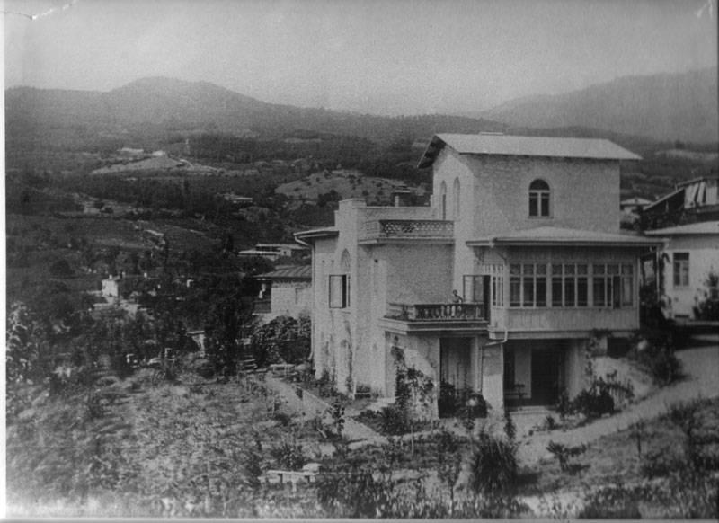 Дом Чехова. Ялтинский уезд, Крым, 1900