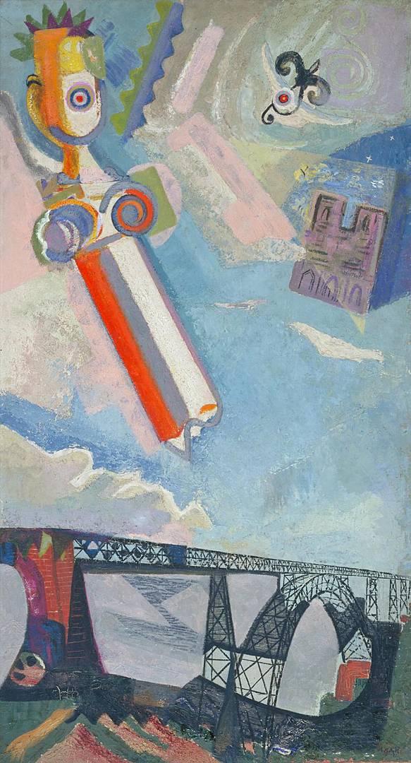Эйлин Агар. Три символа. 1930